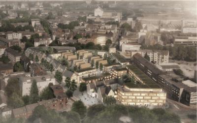 Mit dem Mercatorquartier entsteht ein neues Stadtviertel