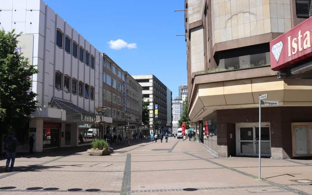 Fortschreibung des IHI und Revitalisierung der Bereiche rund um die Münzstraße
