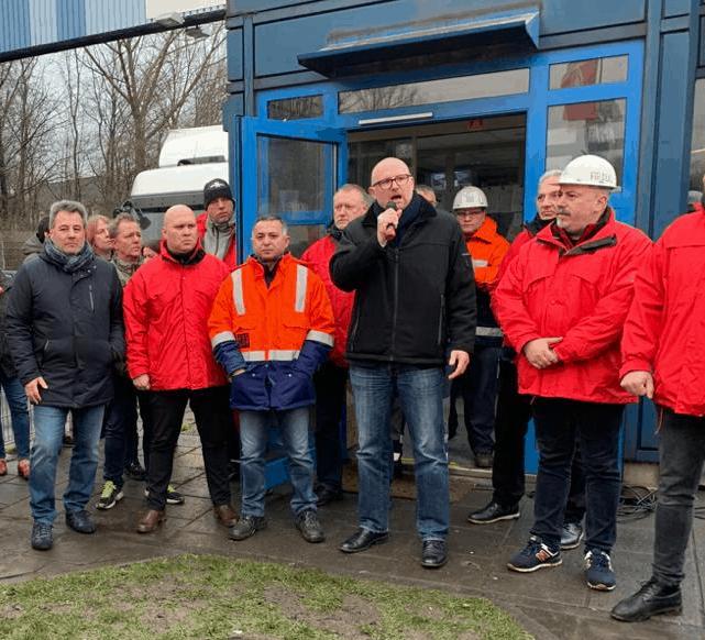 Arbeitsplätze in Duisburg Hüttenheim erhalten