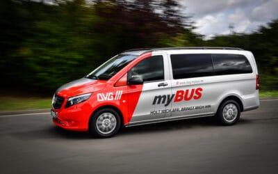 """""""myBUS"""" fährt bald in der ganzen Stadt"""